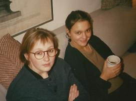Alexandra et Hélène Galitzine vers 1995. Archives familiales(c)
