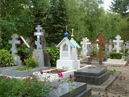 L e cimetière russe de Sainte-Geneviève-des- bois, près de Paris