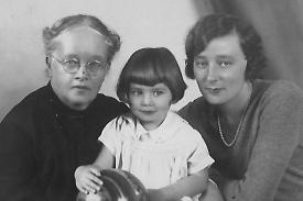 Sophie Nicolaevna Gorboff, Marie Bary, née Gorboff et sa fille Sonia. USA vers 1930