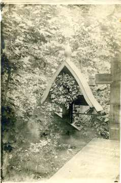 Tombe de Nicolas Masloff à Livny, 1929 Archives Masloff(c)