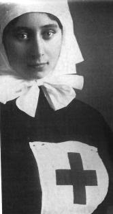 Sophie Gorboff (1891-1982) en 1915 Archives familiales(c)